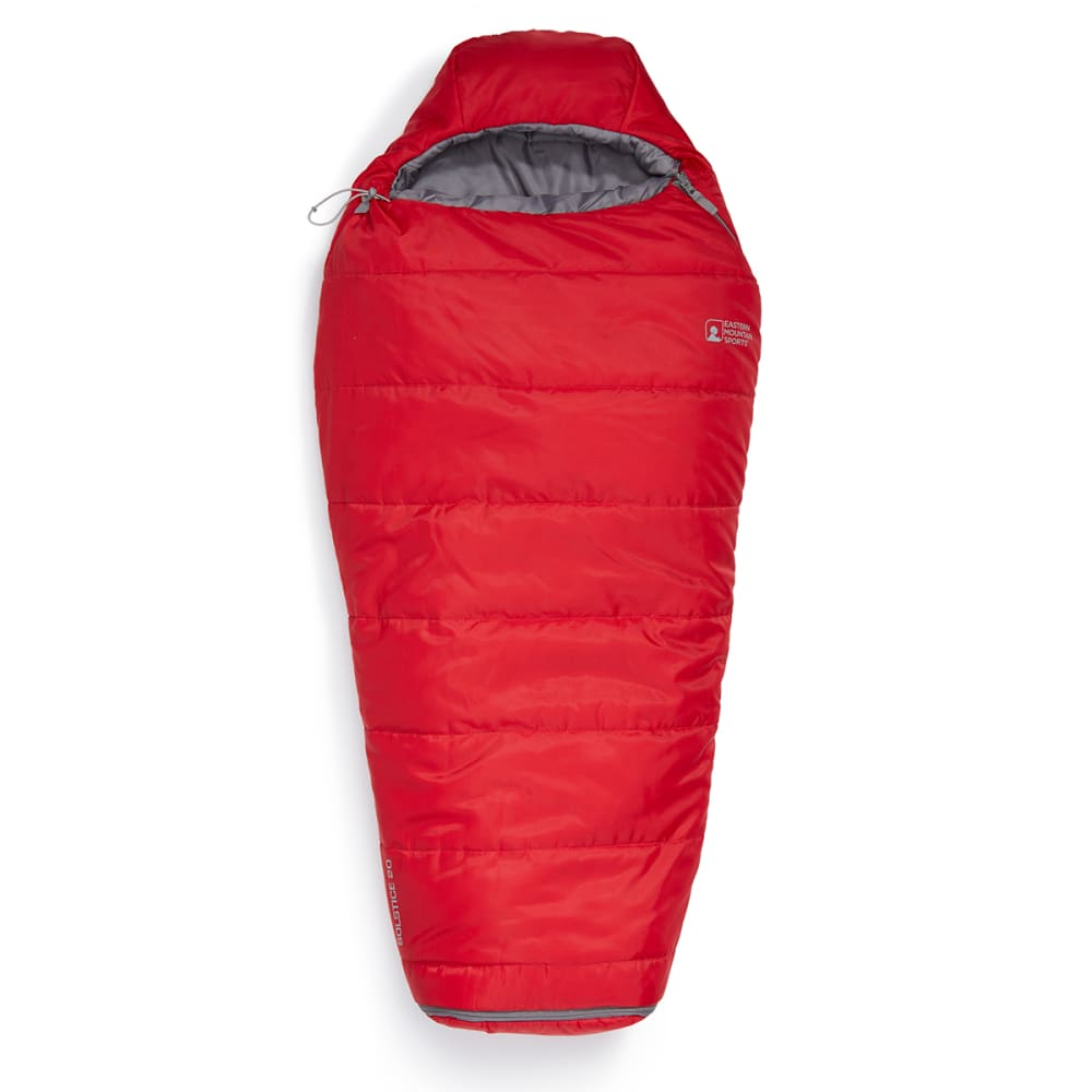 EMS® Junior Solstice 20° Sleeping Bag  - CHILI PEPPER/PEWTER