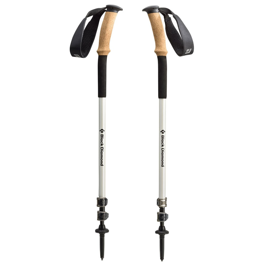 BLACK DIAMOND Alpine Ergo Cork Trekking Poles - PEARL BLACK