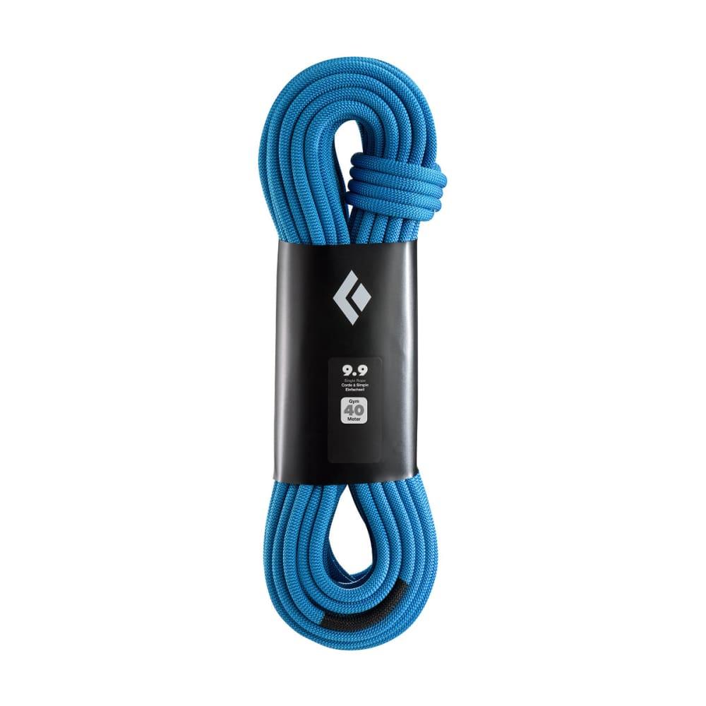 BLACK DIAMOND 9.9-40m Gym Climbing Rope - DUAL BLUE