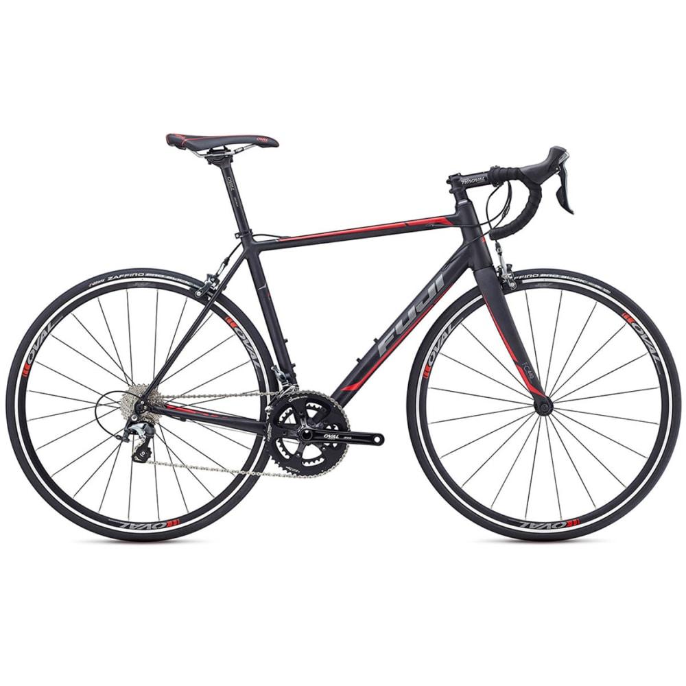 FUJI Men's Roubaix 1.5 Bike - SATIN BLACK/CHARCOAL