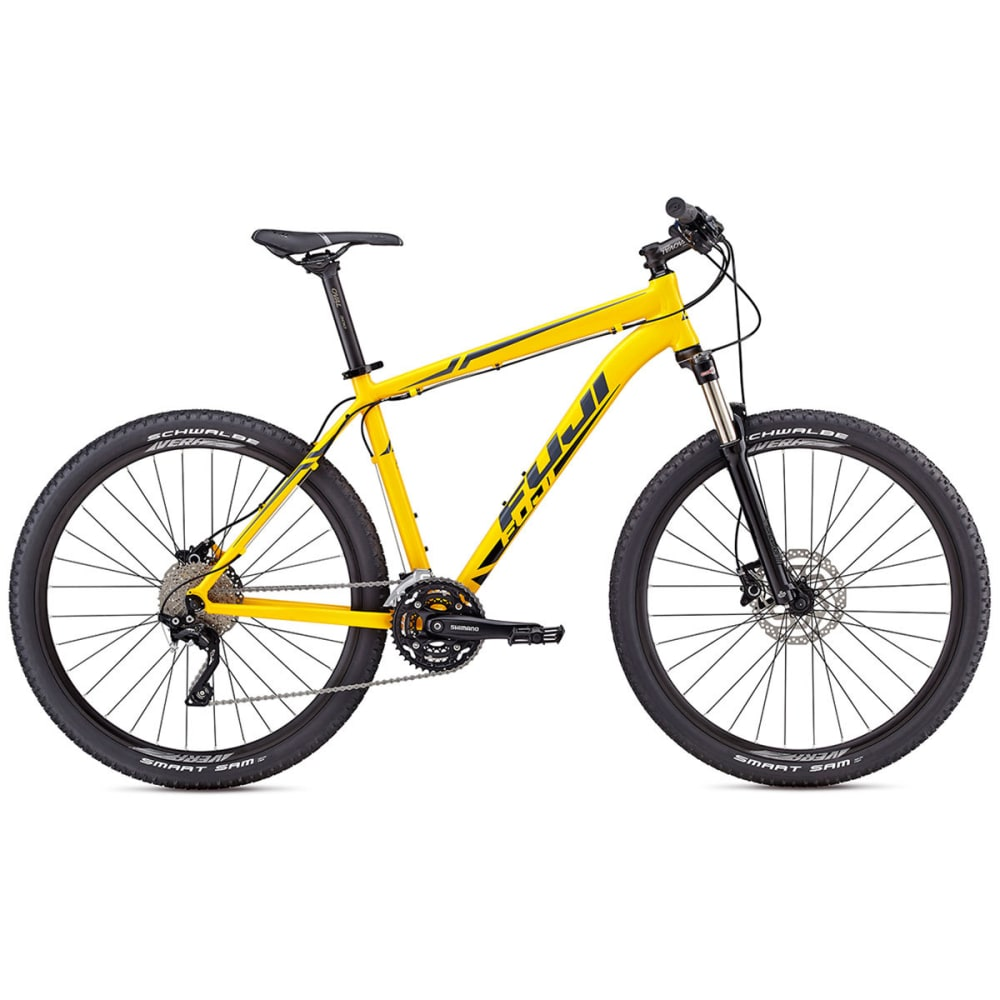 FUJI Nevada 27.5 1.1 Mountain Bike - YELLOW/DARK GREY