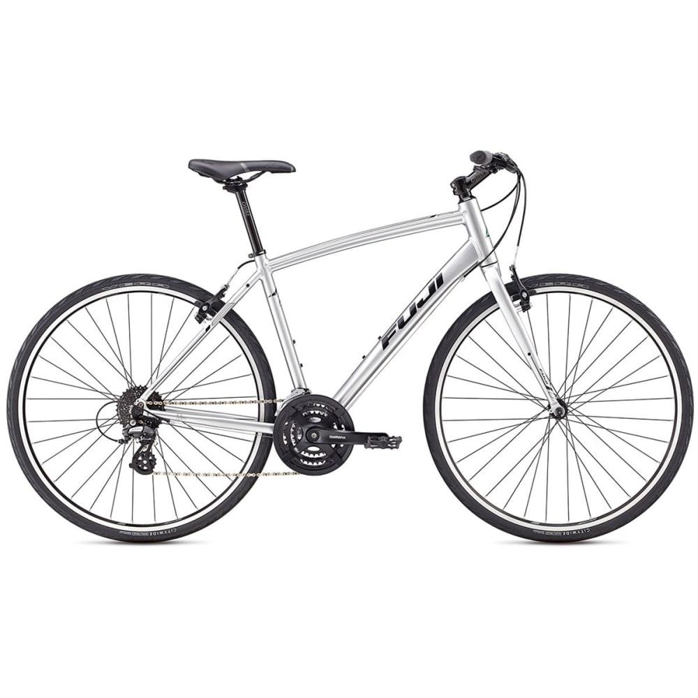 FUJI Absolute 2.1 Hybrid Bike - SILVER/BLACK