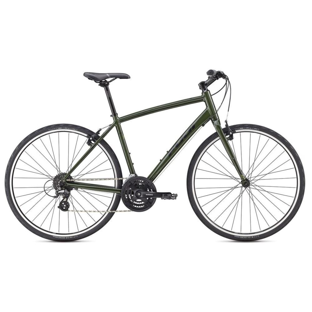 FUJI Absolute 2.1 Hybrid Bike - FOREST GREEN