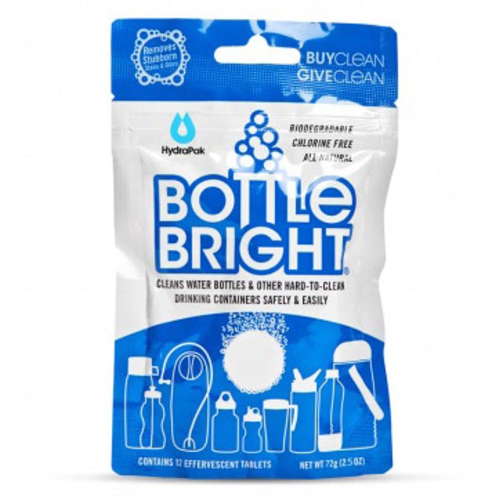 HYDRAPAK Bottle Bright 12 Tabs - NO COLOR