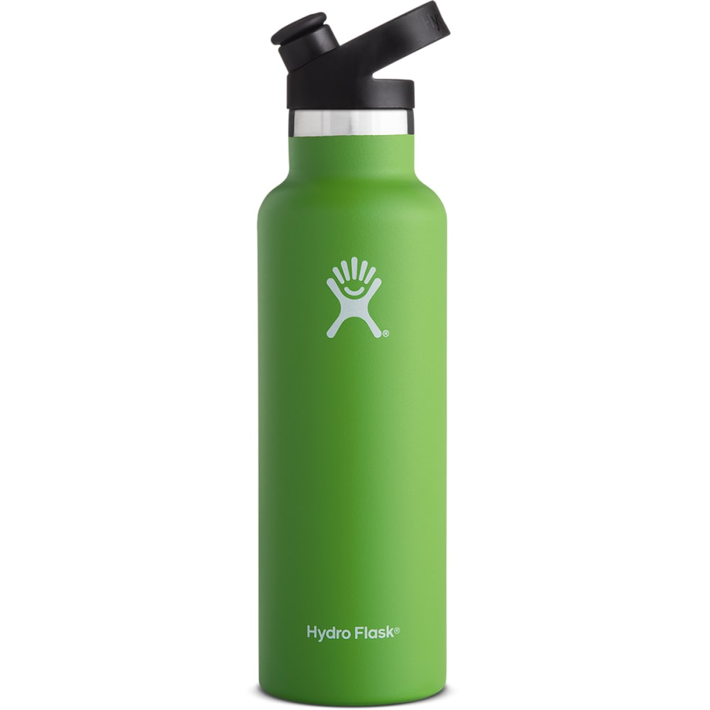 HYDRO FLASK 21 oz. Standard Mouth Water Bottle with Sport Cap - KIWI