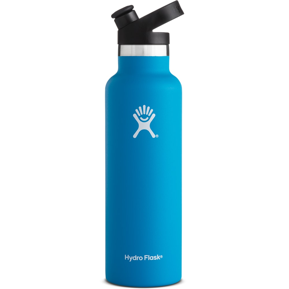 HYDRO FLASK 21 oz. Standard Mouth Water Bottle with Sport Cap - PACIFIC BLUE