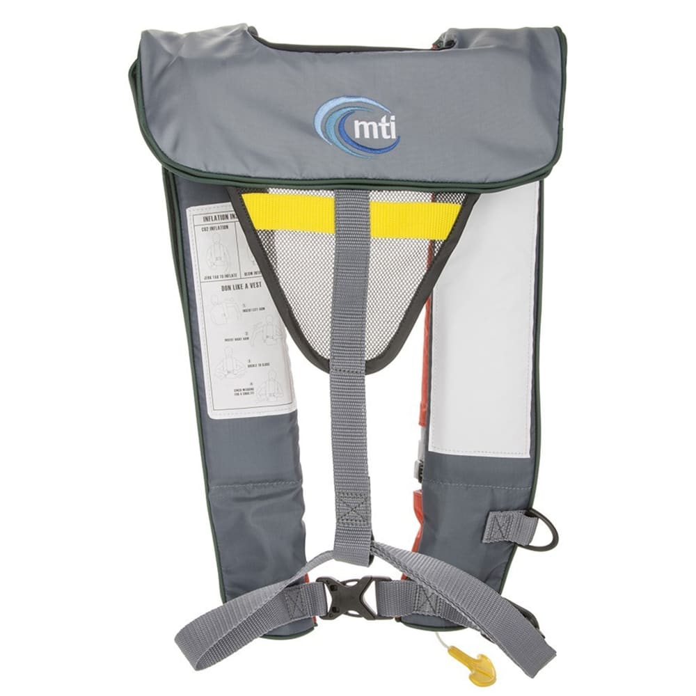 MTI Neptune Automatic Inflatable PFD - ORANGE/GREY