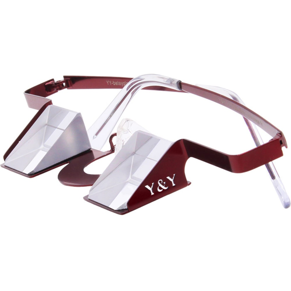 Y & Y VERTICAL Colorful Collection Belay Glasses - RED