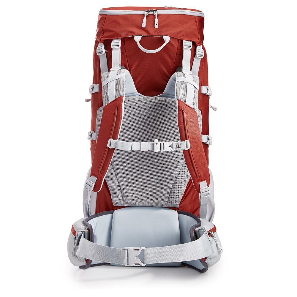 EMS Long Trail 70 Backpack - BRICK RED/TURBULENCE