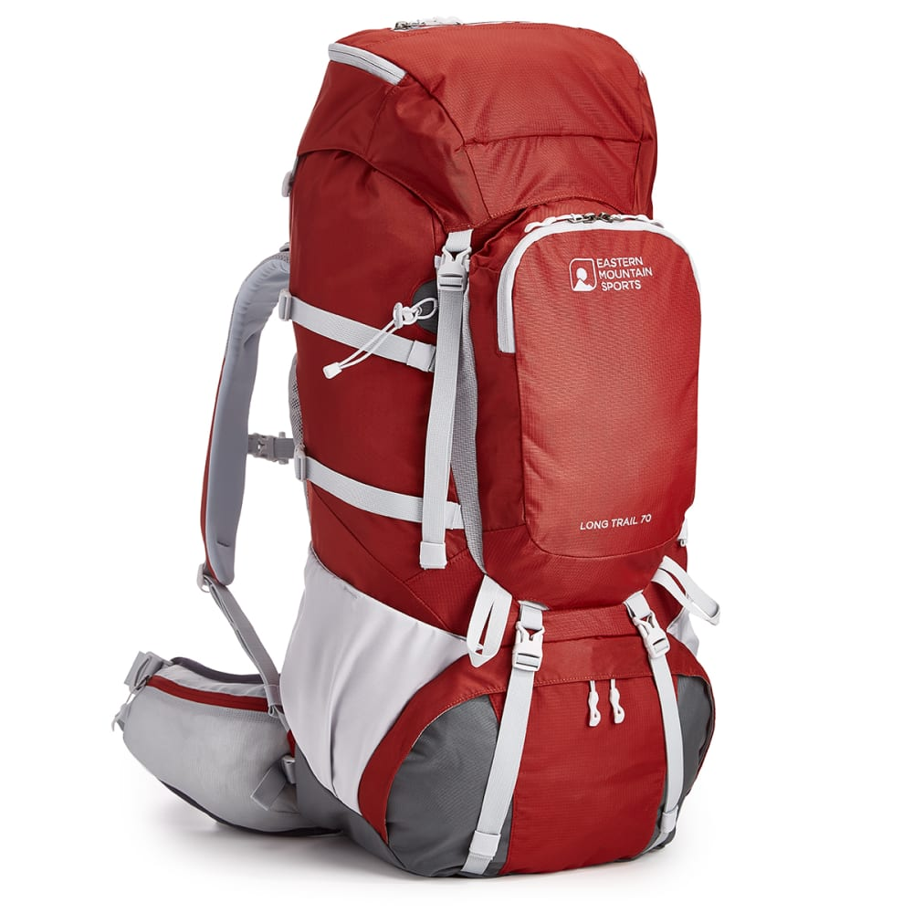 EMS® Long Trail 70 Backpack - BRICK RED/TURBULENCE