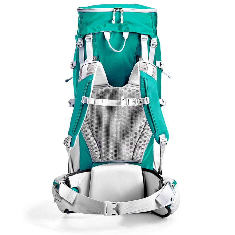 EMS Women's Long Trail 60 Backpack - COLUMBIA/TURBULENCE