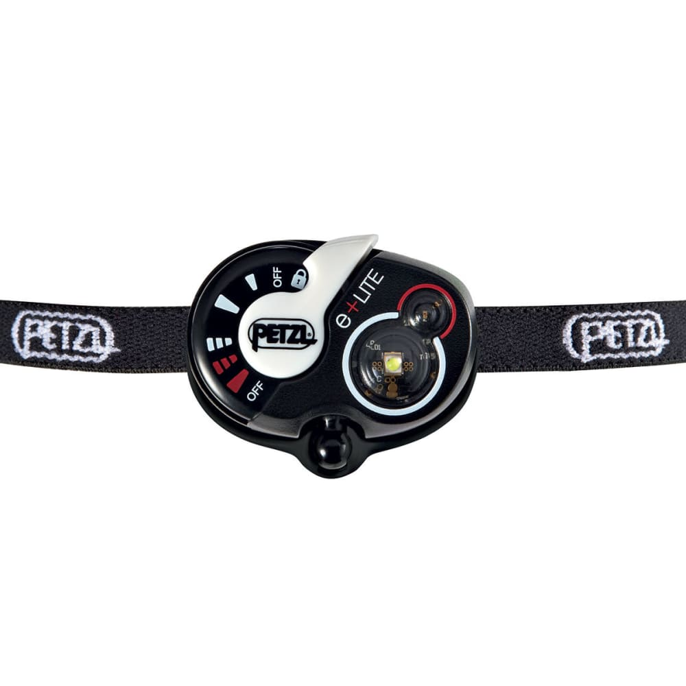 PETZL e+Lite Headlamp - BLACK