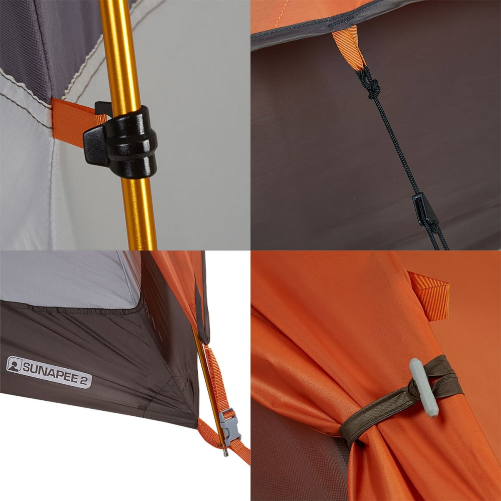 EMS® Sunapee 2 Tent - DUSTY/ORANGE