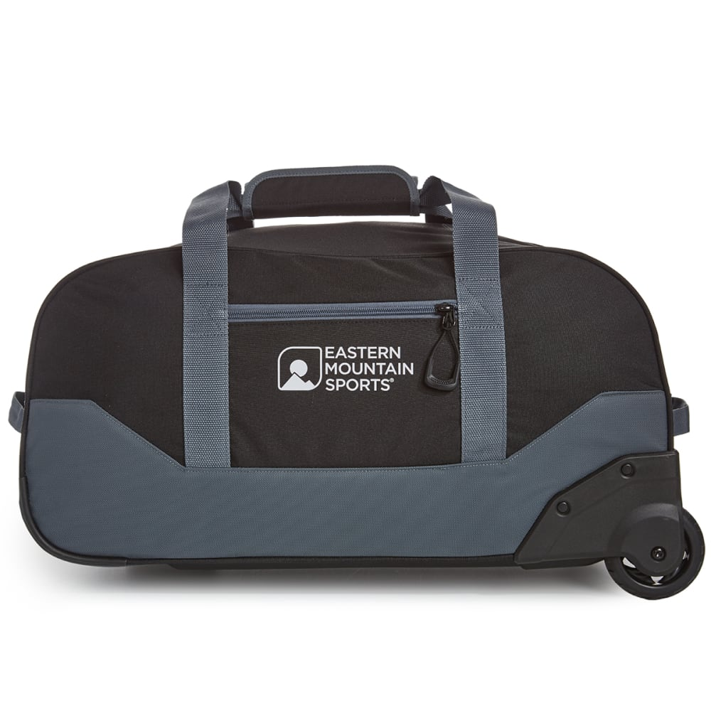 EMS® Wheeled Camp Duffel, Medium - BLACK