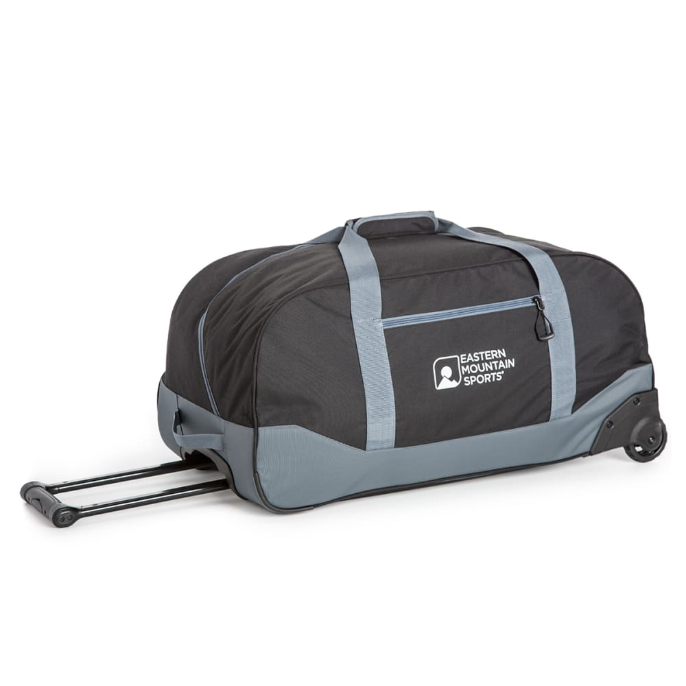 EMS Wheeled Camp Duffel, Large - BLACK