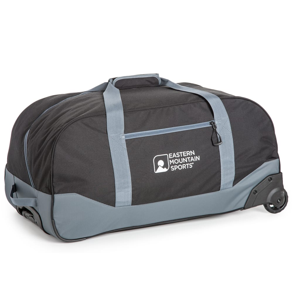 EMS® Wheeled Camp Duffel, Large - BLACK