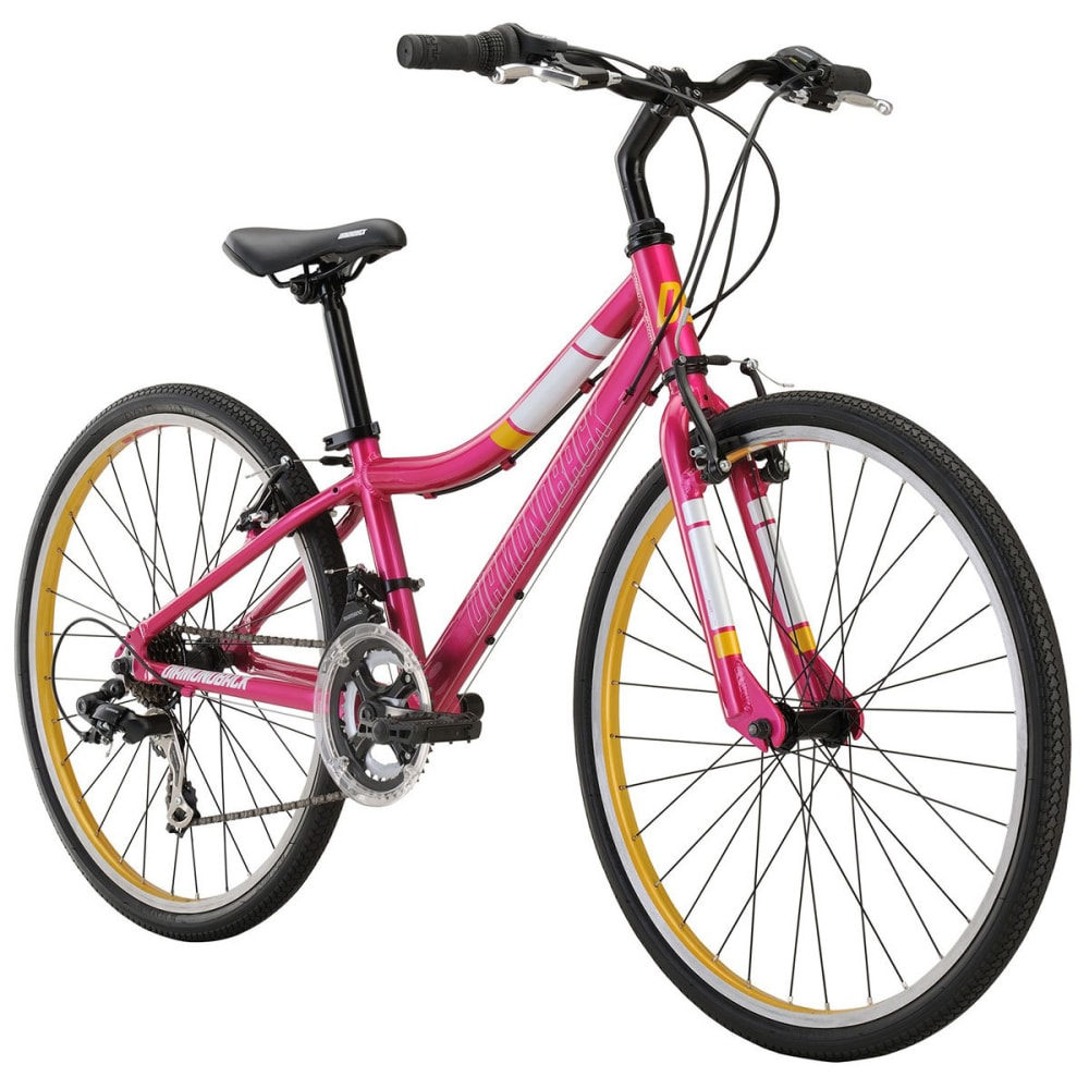 DIAMONDBACK Girls' Clarity 24 Junior Road Bike - PINK