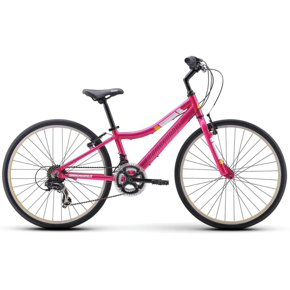 DIAMONDBACK Girls' Clarity 24 Junior Road Bike - PINK