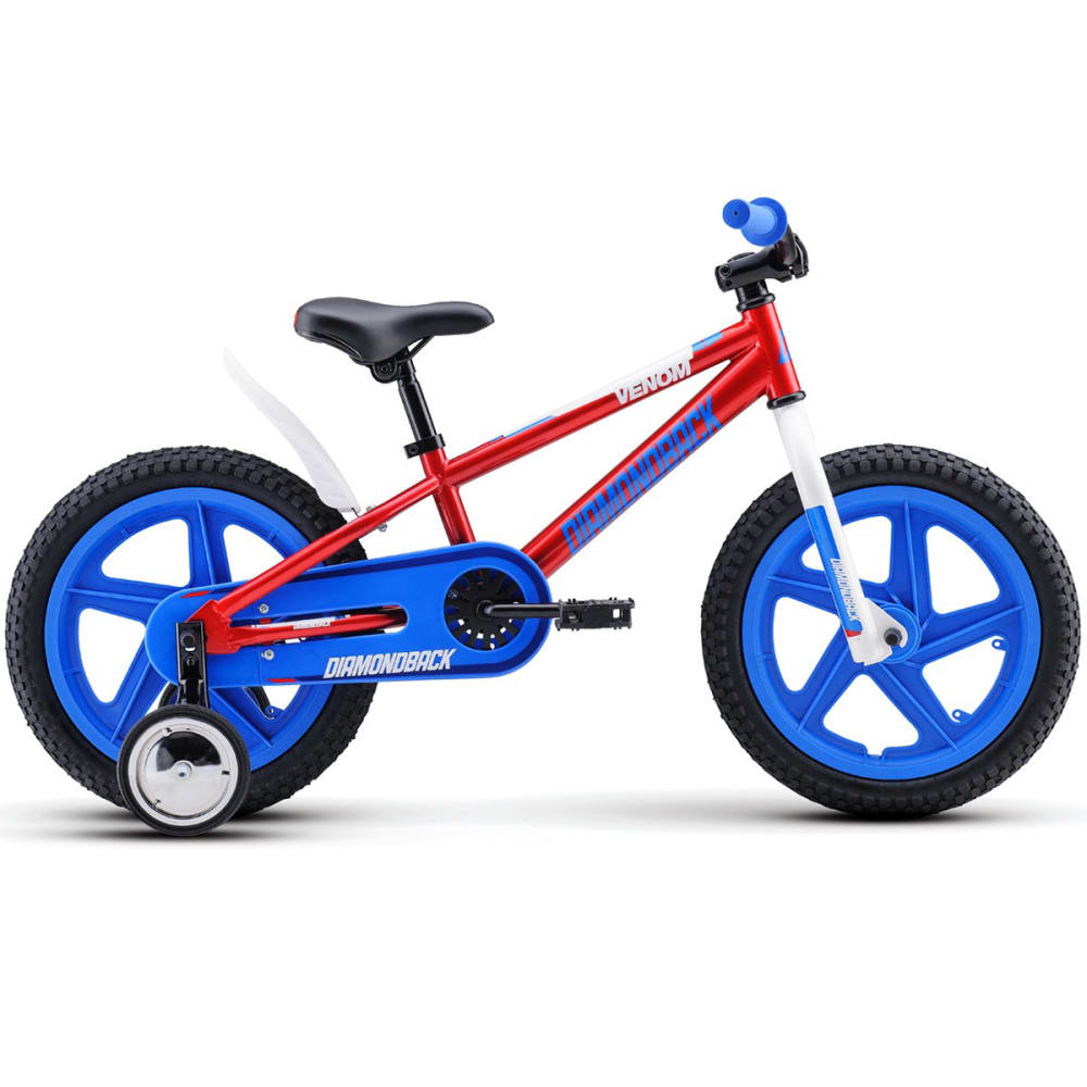 DIAMONDBACK Boys' Mini Venom Bike - RED
