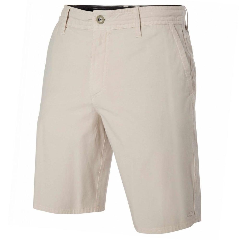 O'NEILL Guys' Locked Overdye Hybrid Shorts - STONE