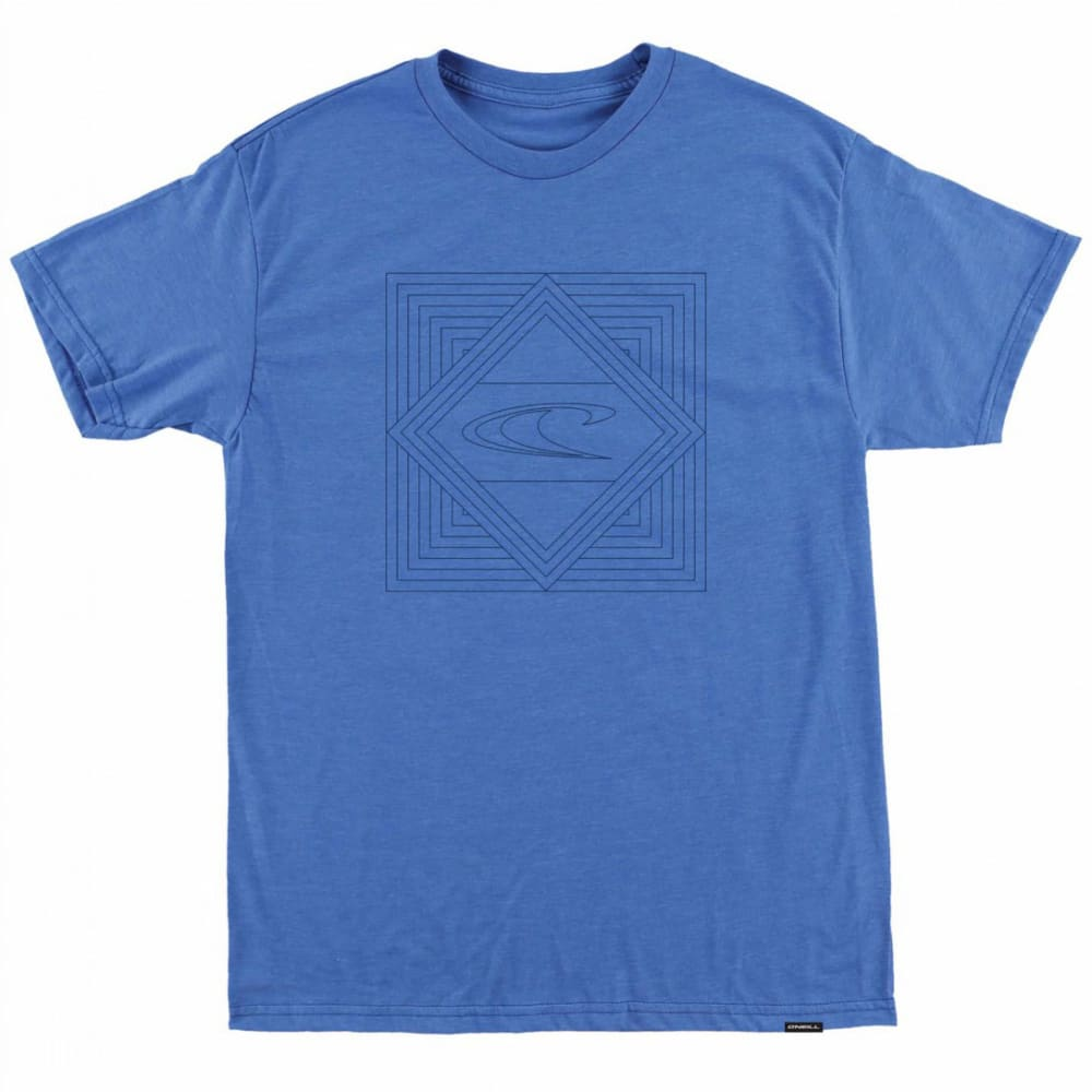 O'NEILL Boys' Grade Screen Short-Sleeve Tee - HTR ROYAL BLUE