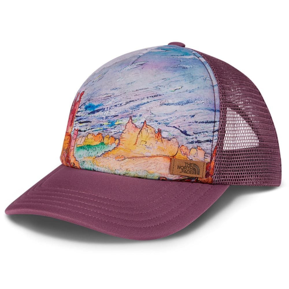 THE NORTH FACE Women's Renan Trucker Hat - AMARANTH PURPLE