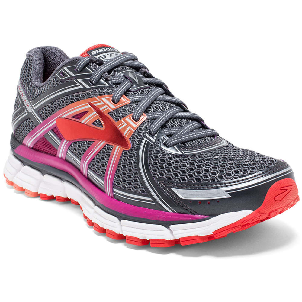 BROOKS Women's Adrenaline GTS 17 Running Shoes, Wide