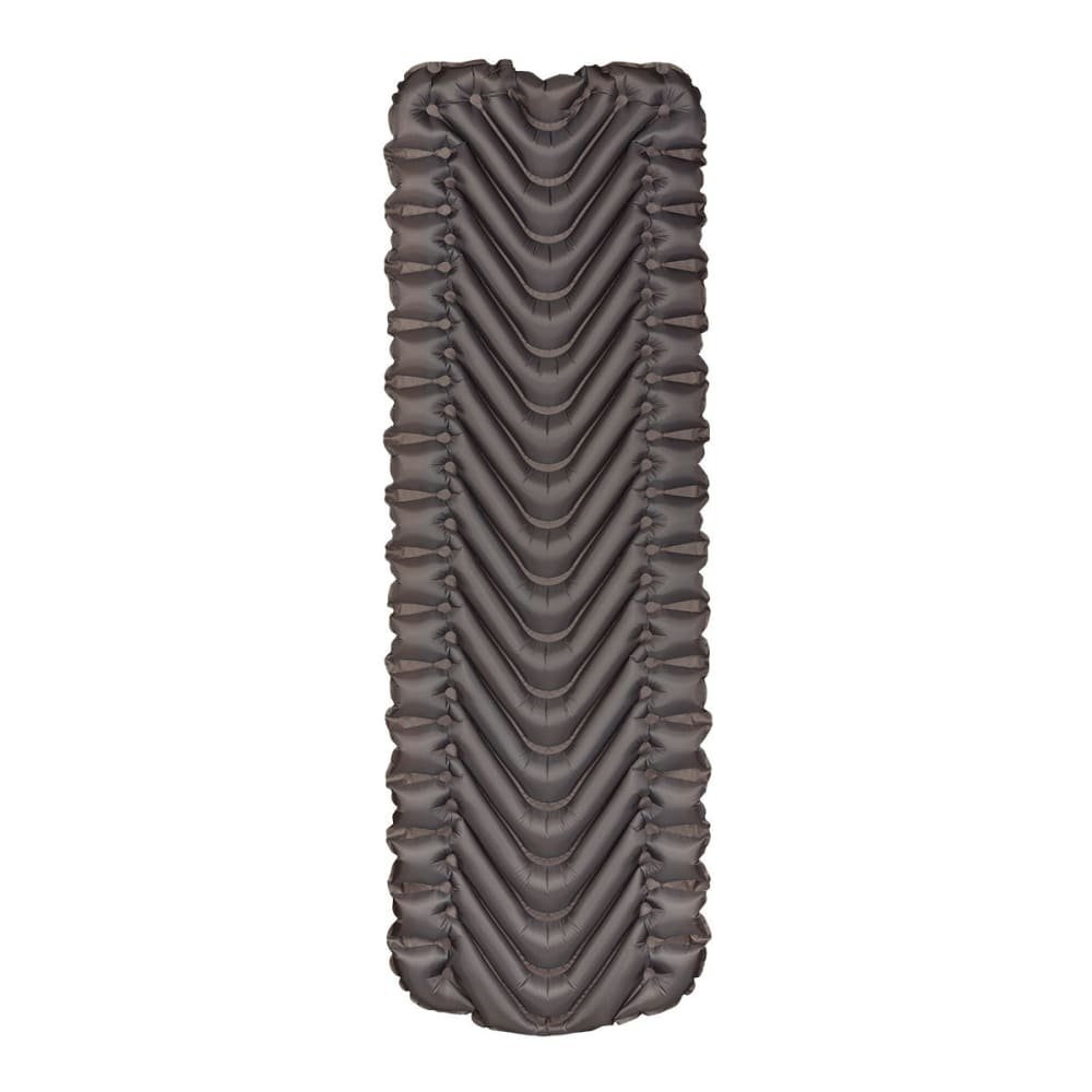 KLYMIT Insulated Static V Sleeping Pad - ORANGE/CHARCOAL BLK