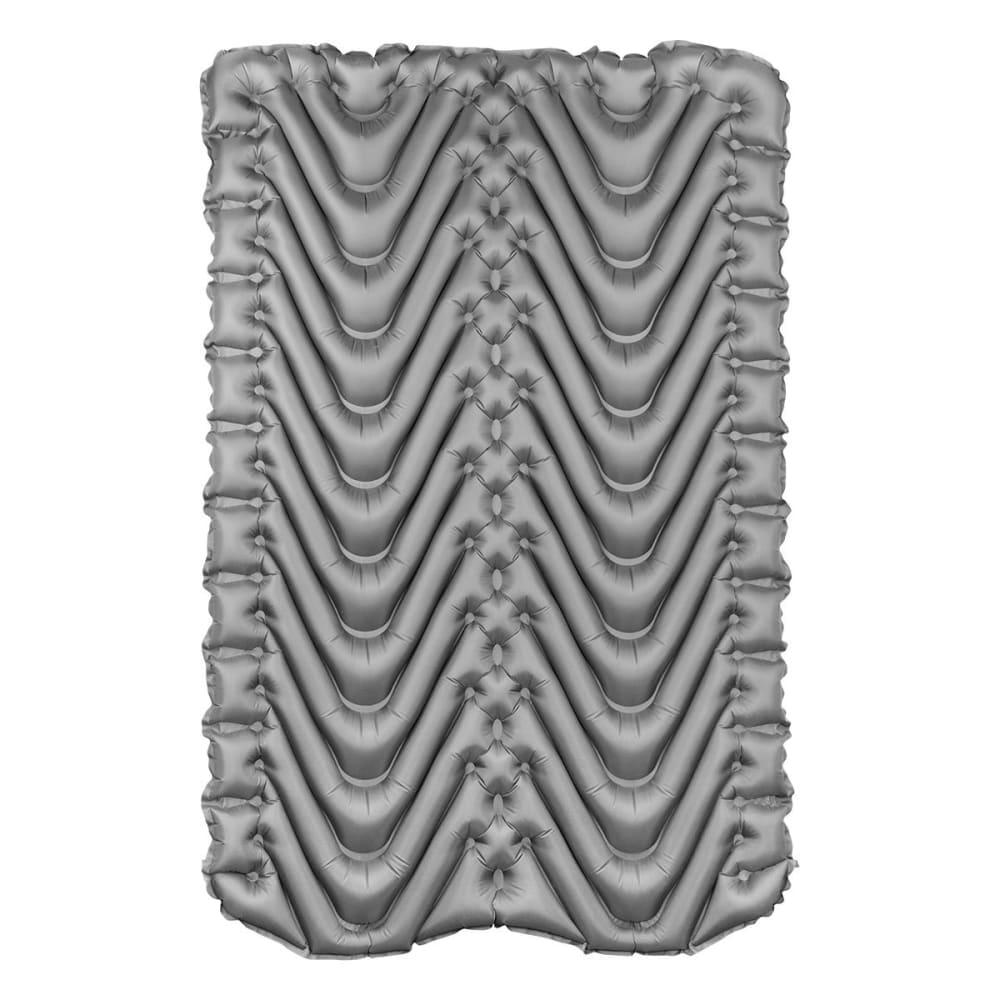 KLYMIT Double V Sleeping Pad - BLUE/CHARCOAL BLACK