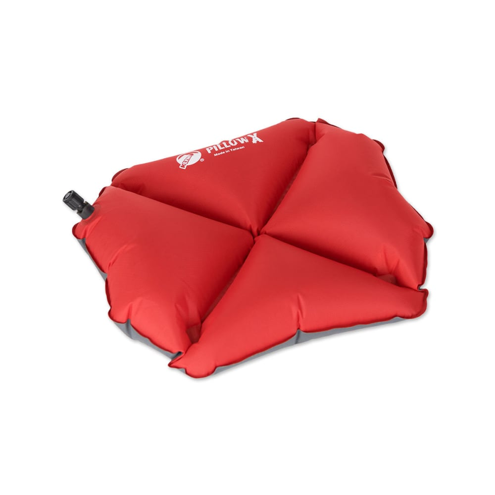 KLYMIT Pillow X - RED/GREY