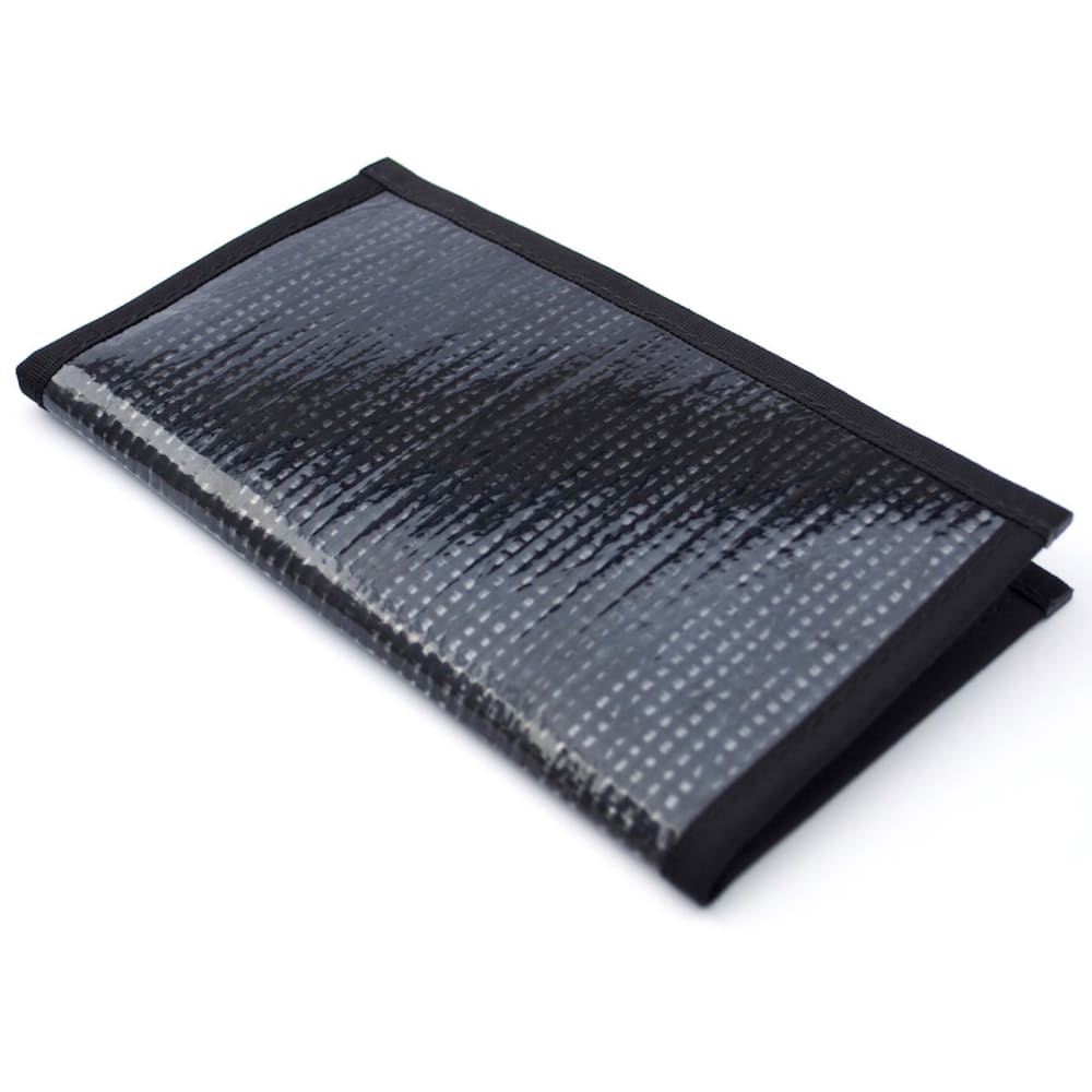 FLOWFOLD Altruist Long Wallet - BLACK PEARL