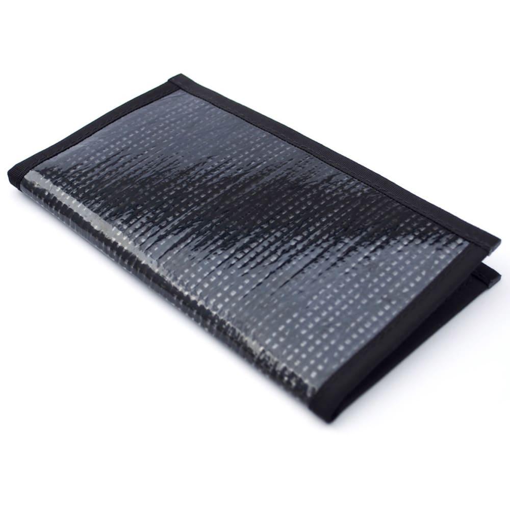 FLOWFOLD Altruist Long Wallet - BLACK PEARL
