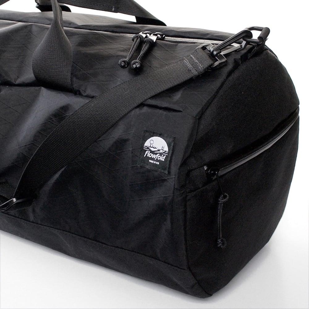 FLOWFOLD 40L Conductor Duffle Bag - JET BLACK