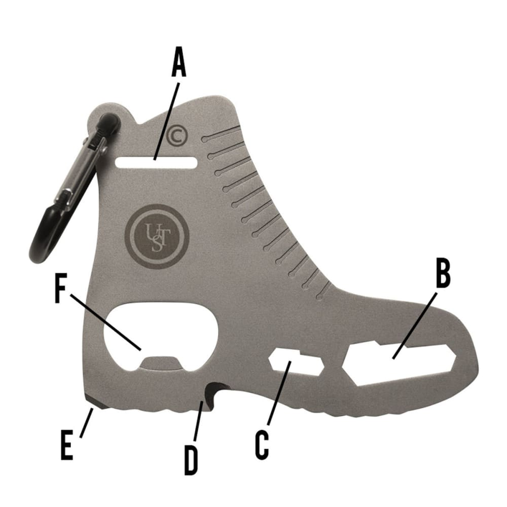 TOOL A LONG Boot Multi-Tool - STAINLESS