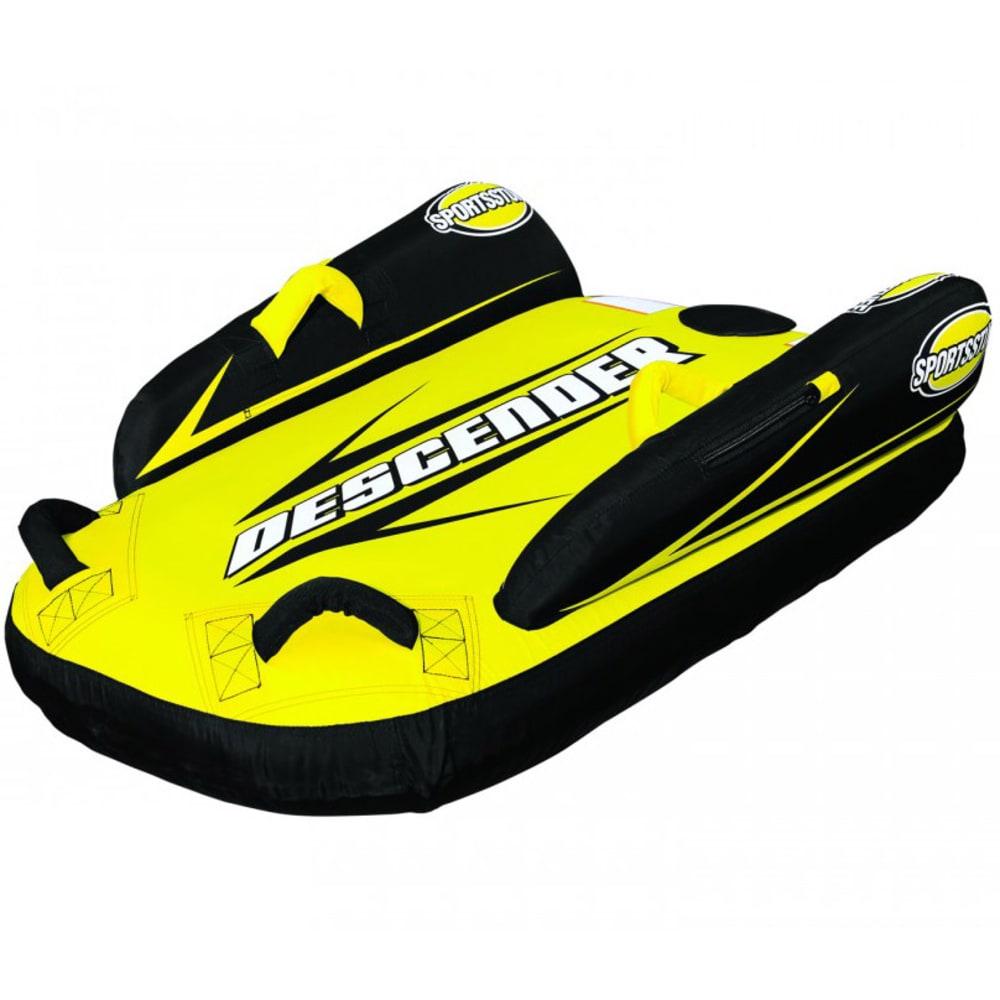 SPORTSSTUFF Descender Inflatable Bodyboard Sled - BLACK