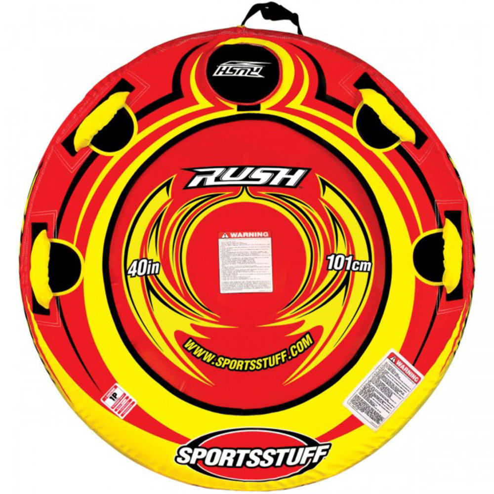 SPORTSSTUFF Rush Inflatable Snow Tube - RED