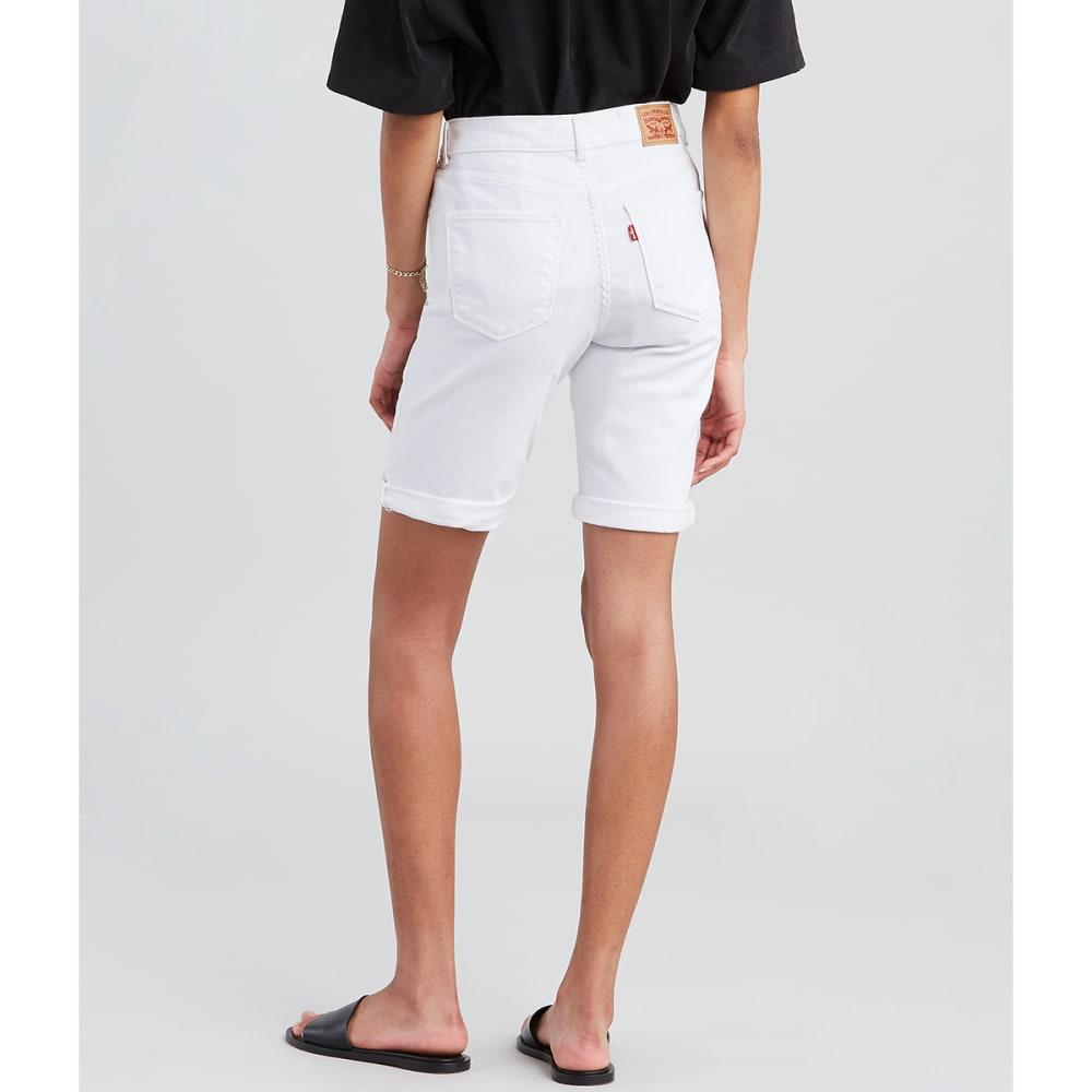 LEVI'S Women's Bermuda Shorts - 0015-WHITE JASMINE