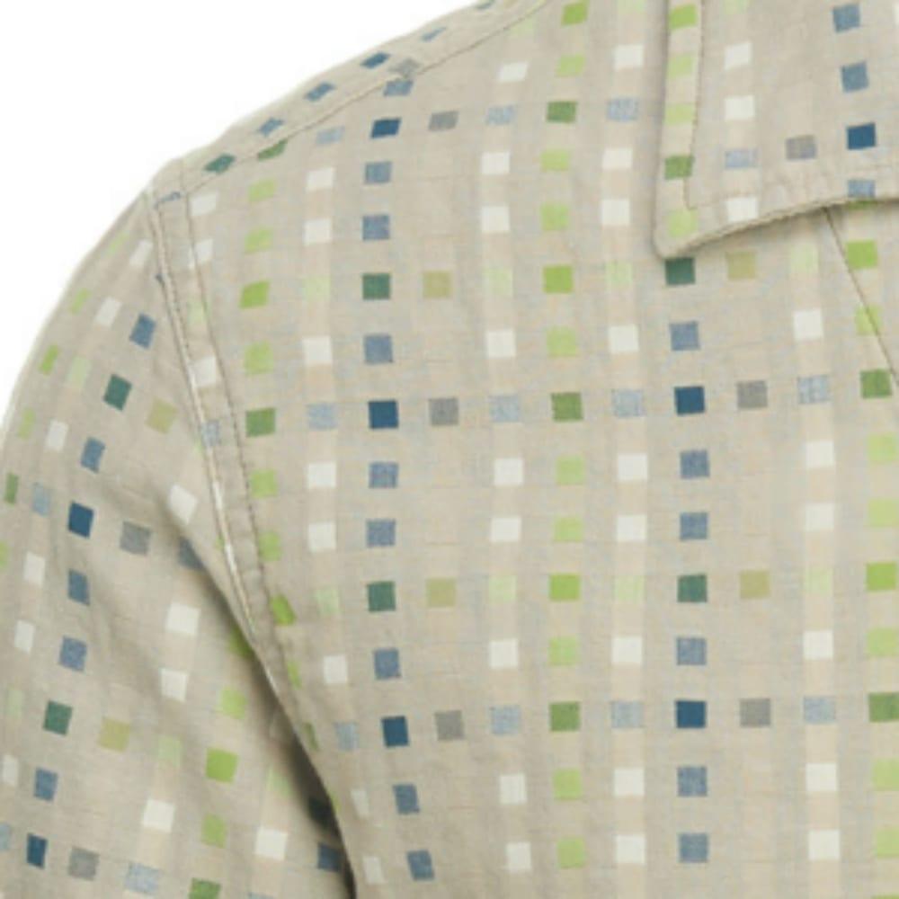 WOOLRICH Men's Coastal Peak Eco Rich Short-Sleeve Shirt, Modern Fit - KHAKI