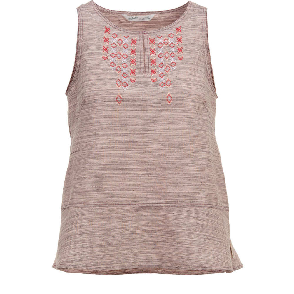 WOOLRICH Women's Outside Air Eco Rich Tank Top - EGGPLANT