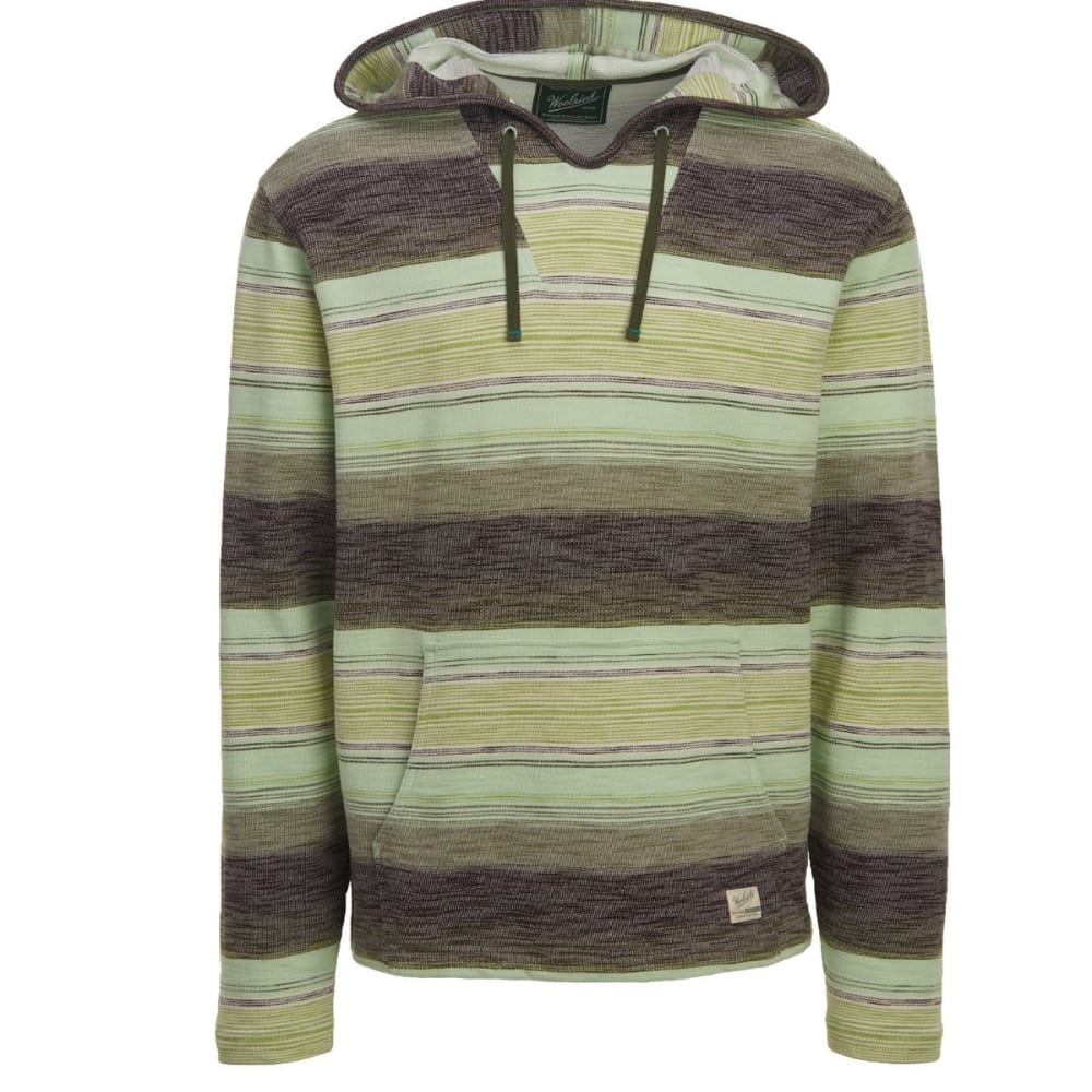 WOOLRICH Men's Baja Days Li Eco Rich Hoodie, Modern Fit - OLIVE NIGHT