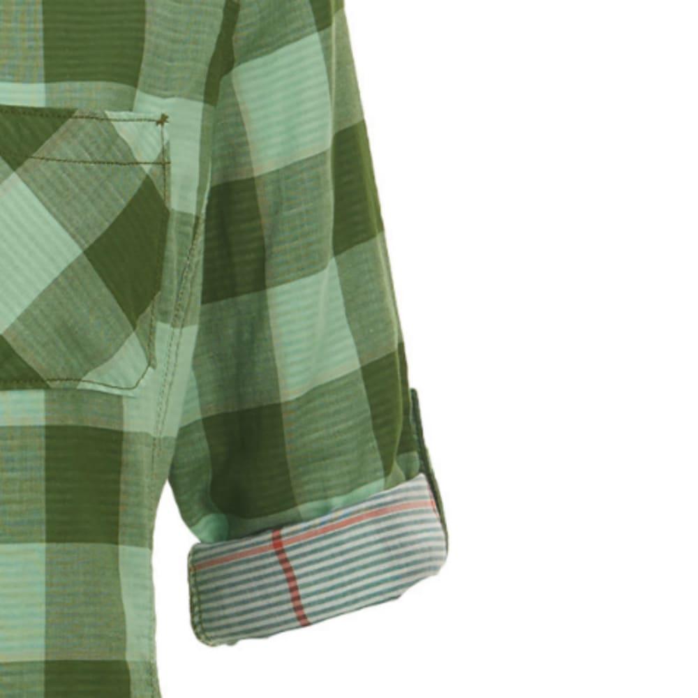 WOOLRICH Women's Conundrum Eco Rich Convertible Sleeve Shirt - MOSS