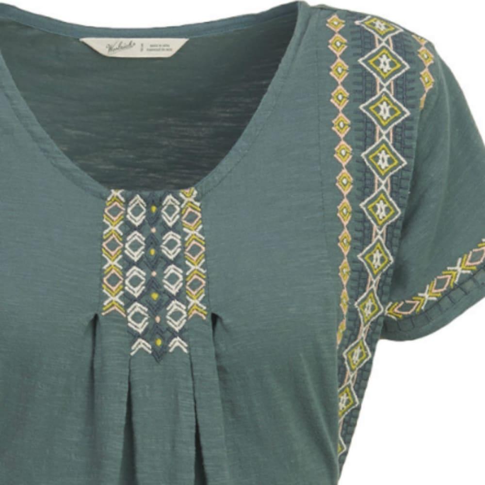 WOOLRICH Women's Bell Canyon Eco Rich Dress - BALSAM GREEN