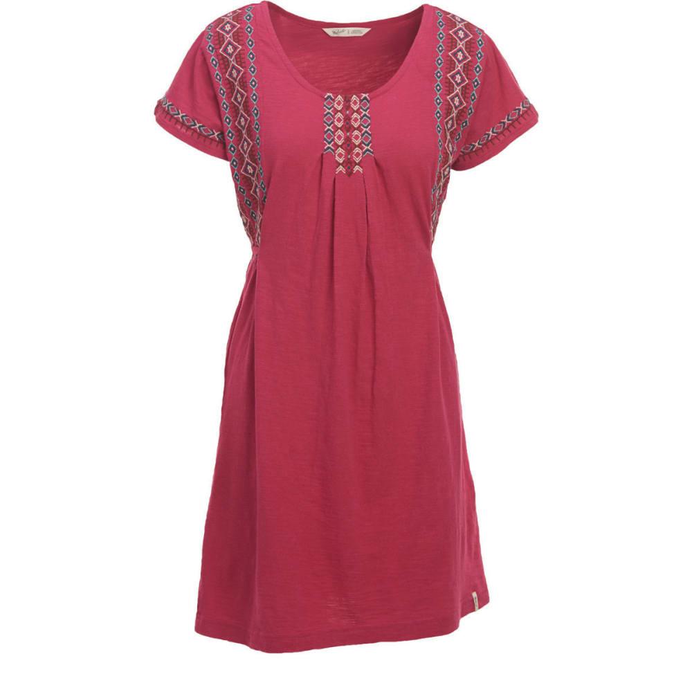 WOOLRICH Women's Bell Canyon Eco Rich Dress - DRAGON FRUIT