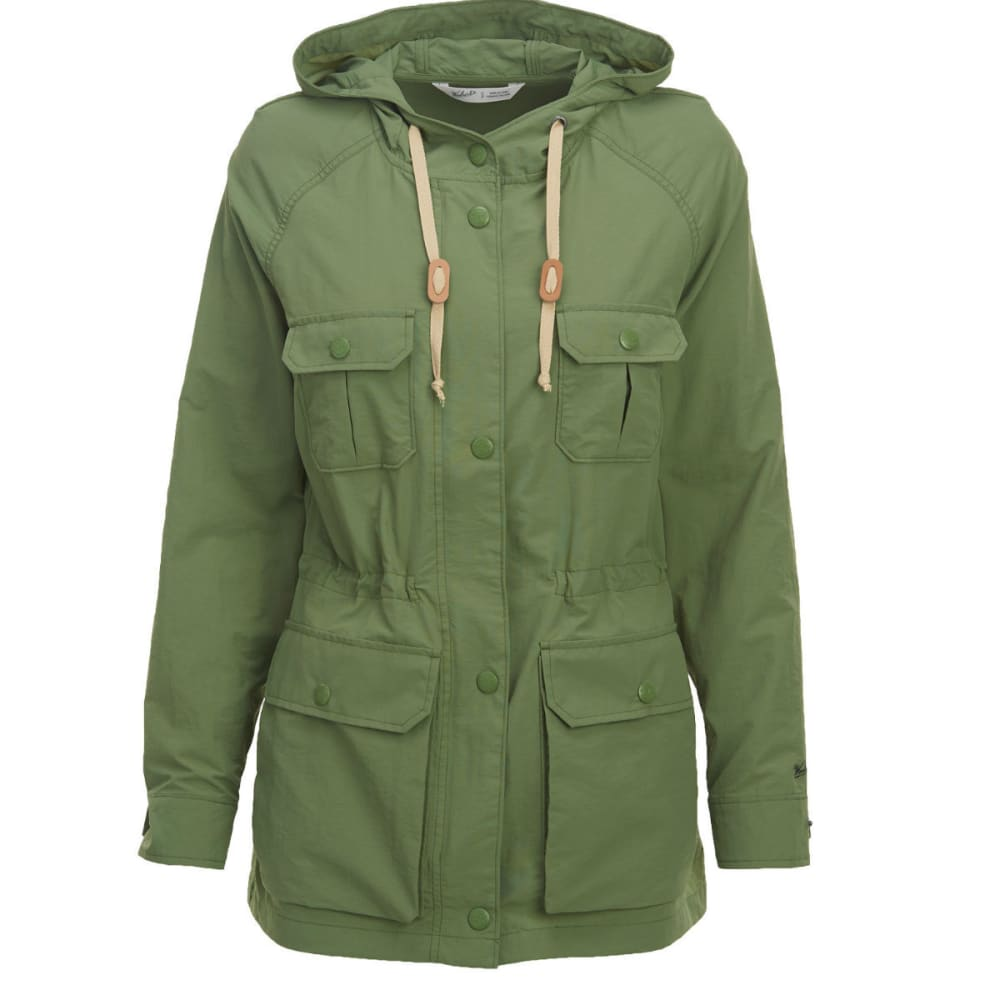 WOOLRICH Women's Lightweight Mountain Parka - FADED OLIVE