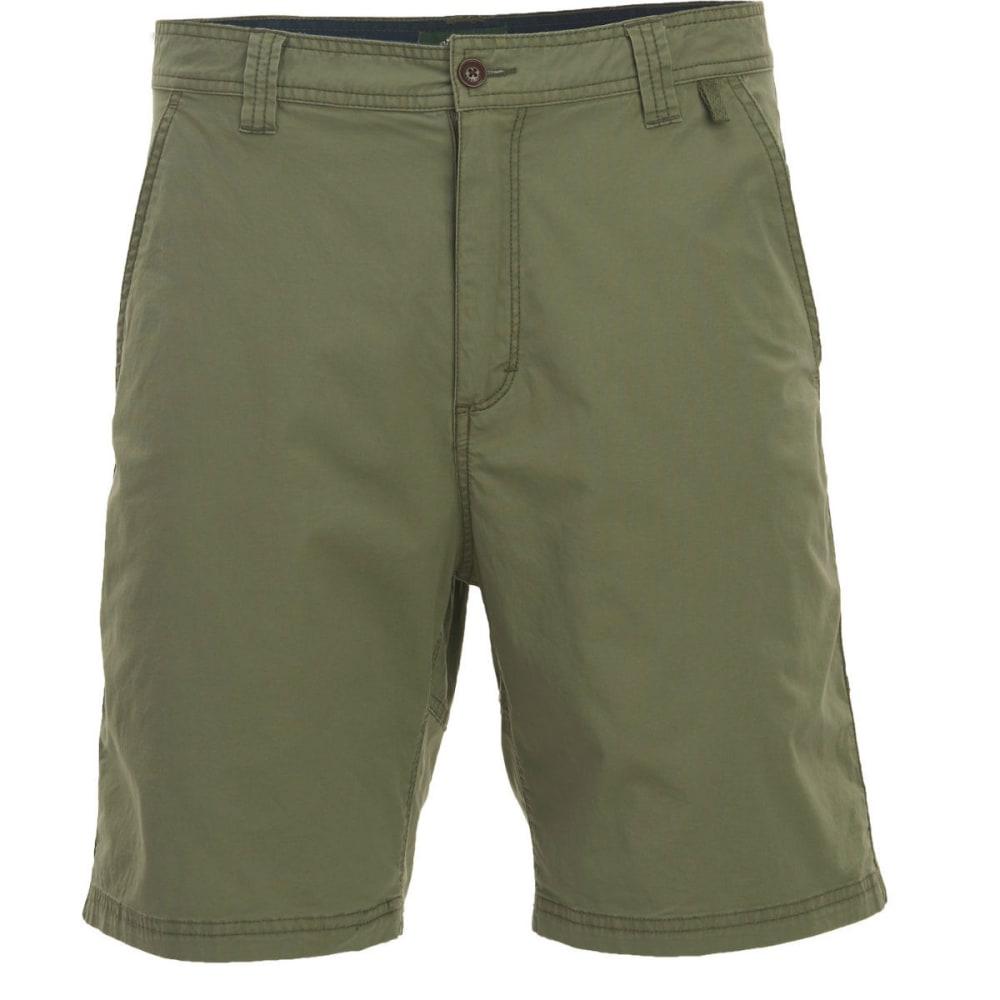 WOOLRICH Men's Vista Point Eco Rich Shorts - LICHEN GREEN