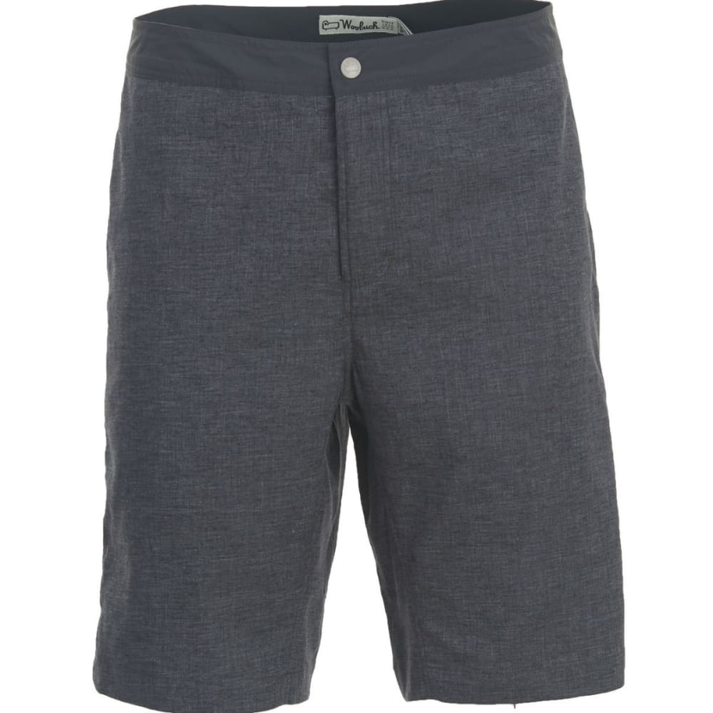 WOOLRICH Men's Eco Rich Hemp Shorts - CHARCOAL