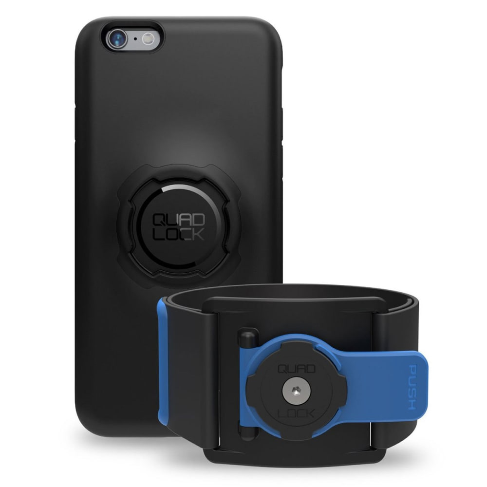 QUAD LOCK Sports Armband Running Kit for iPhone 6 Plus/6S Plus - NO COLOR