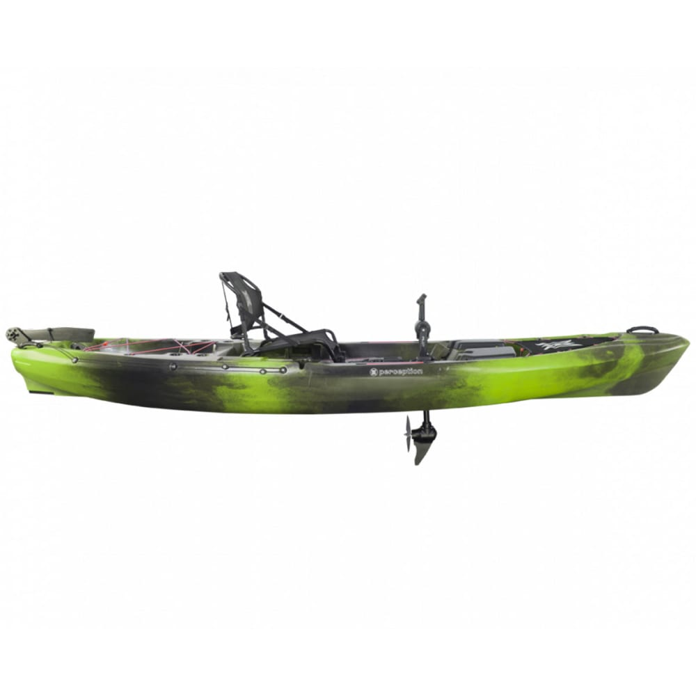 PERCEPTION Pescador Pilot 12.0 Kayak - MOSS CAMO