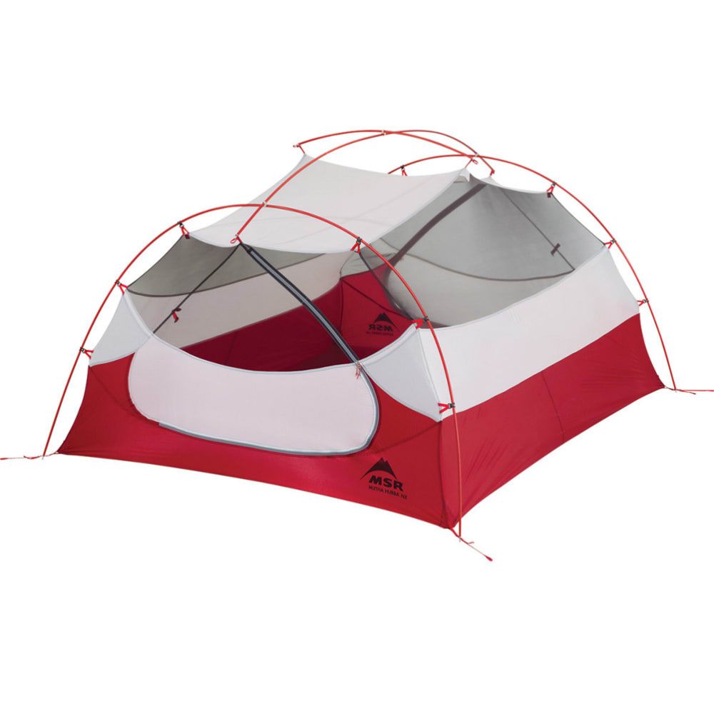 MSR Mutha Hubba NX 3-Person Tent - RED
