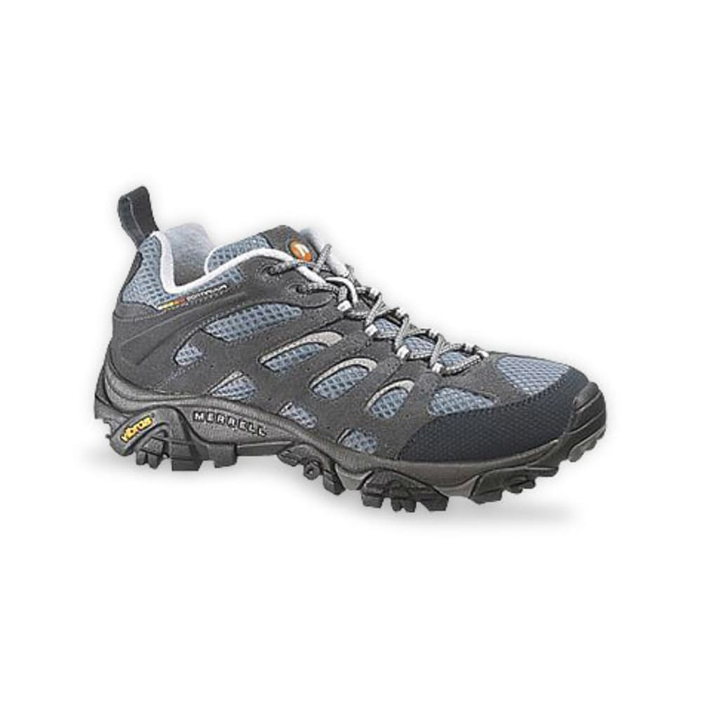 MERRELL Women's Moab Ventilator Hiking Shoes, Smoke - SMOKE